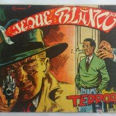 Tebeos: JEQUE BLANCO Nº 85, TERROR EN LOS HIELOS. Lote 52839887