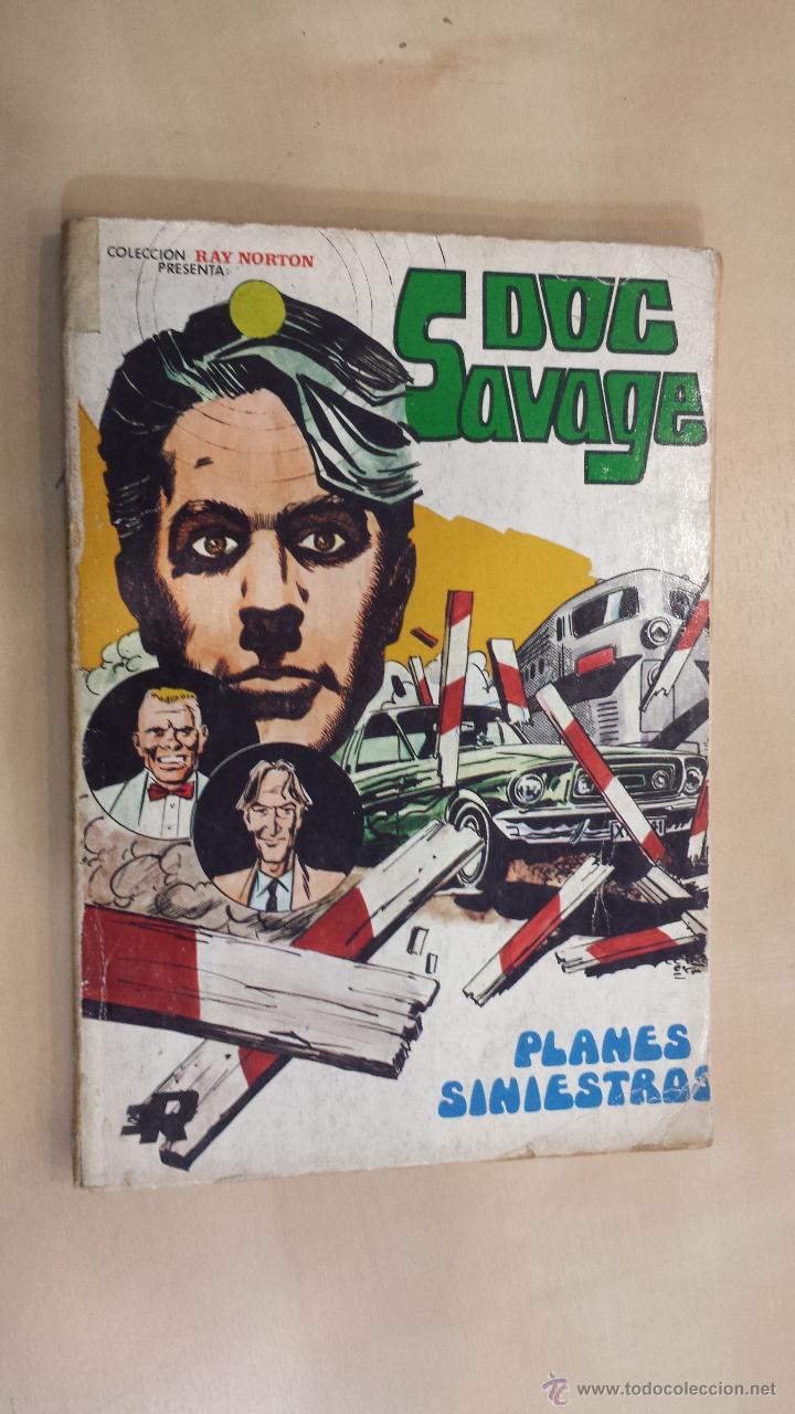 DOC SAVAGE Nº 2 TACO - COLECCIÓN RAY NORTON - ROLLAN 1974 - COMPLETO (Tebeos y Comics - Rollán - Otros)