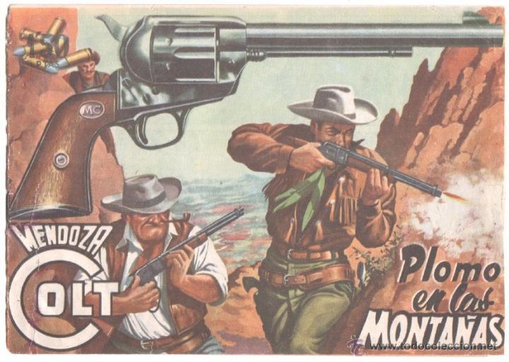 MENDOZA COLT ORIGINAL Nº 13 EDI. ROLLAN 1955 - DIBUJO DE MARTIN SALVADOR (Tebeos y Comics - Rollán - Mendoza Colt)