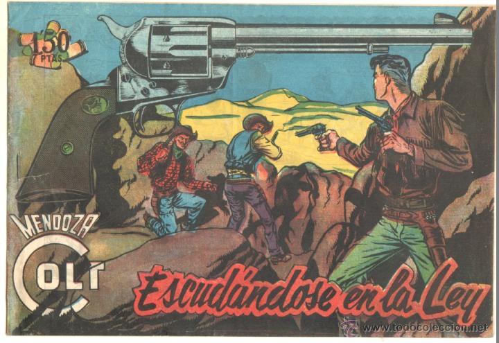 MENDOZA COLT ORIGINAL Nº 112 EDI. ROLLAN 1958 - EXCELENTE ESTADO, DIFICIL (Tebeos y Comics - Rollán - Mendoza Colt)