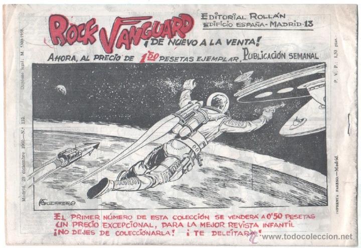 Tebeos: MENDOZA COLT ORIGINAL Nº 112 EDI. ROLLAN 1958 - EXCELENTE ESTADO, DIFICIL - Foto 2 - 53295702