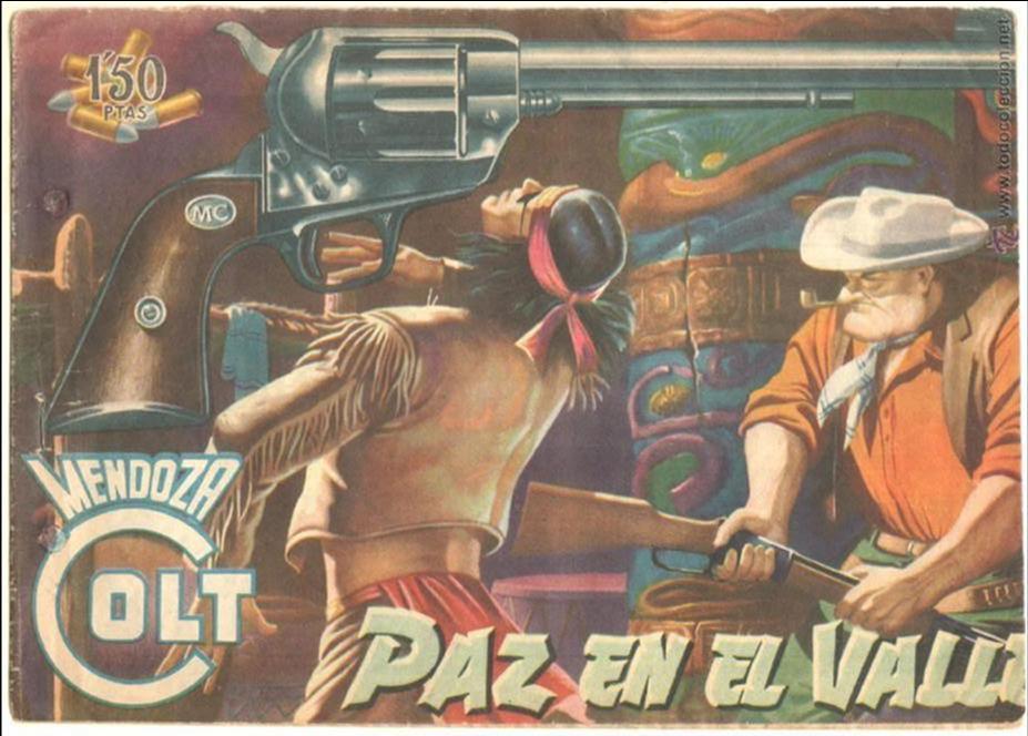 MENDOZA COLT ORIGINAL Nº 10 EDI. ROLLAN (Tebeos y Comics - Rollán - Mendoza Colt)