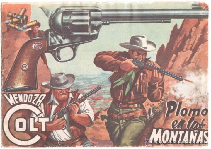 MENDOZA COLT ORIGNAL Nº 13 EDI. ROLLAN 1958 (Tebeos y Comics - Rollán - Mendoza Colt)