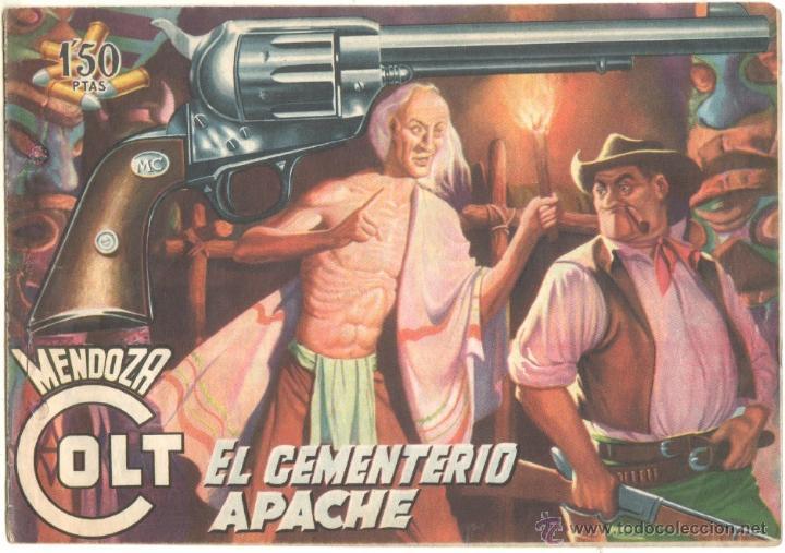 MENDOZA COLT ORIGINAL Nº 8 EDI. ROLLAN 1958 (Tebeos y Comics - Rollán - Mendoza Colt)