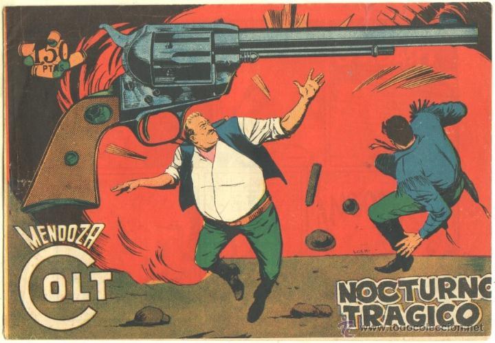 MENDOZA COLT ORIGINAL Nº 108 EDI. ROLLAN 1960 - SIN CIRCULAR, MUY NUEVO, VER IMAGENES (Tebeos y Comics - Rollán - Mendoza Colt)