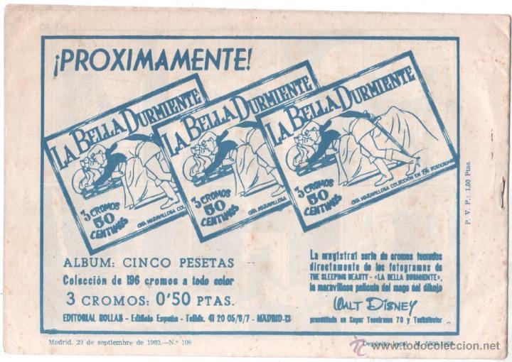 Tebeos: MENDOZA COLT ORIGINAL Nº 108 EDI. ROLLAN 1960 - SIN CIRCULAR, MUY NUEVO, VER IMAGENES - Foto 2 - 53473641