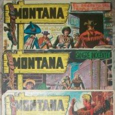 Giornalini: MONTANA (ROLLAN) (LOTE DE 5 NUMEROS). Lote 53593236