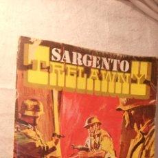 Cómic / Novela Bélica Comics Rollan . Sargento Trelawny . nº 2 barrera de fuego. Años 60/70