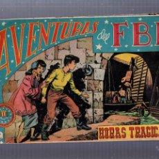 Tebeos: AVENTURAS DEL FBI. HORAS TRAGICAS. Nº 49. EDITORIAL ROLLAN. Lote 54238792