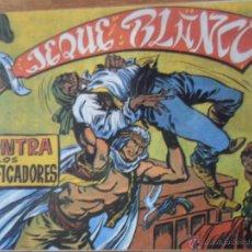 Tebeos: EL JEQUE BLANCO, CONTRA LOS FALSIFICADORES, ED. ANDINA, 1982. Lote 54364716