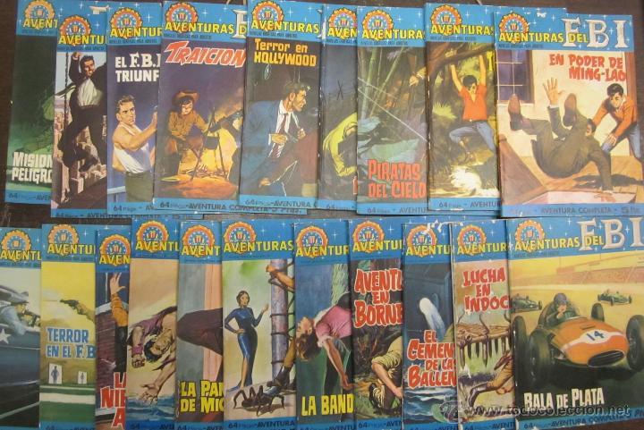 AVENTURAS DEL FBI 20 NÚMEROS INCOMPLETA (Tebeos y Comics - Rollán - FBI)
