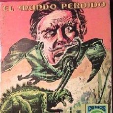 Tebeos: EL MUNDO PERDIDO EDITORIAL ROLLÁN NOVIEMBRE 1973. SERIE AZUL. Lote 54495588