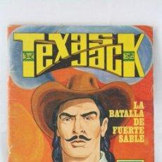 Tebeos: CÓMIC TEXAS JACK - Nº 7. LA BATALLA DE FUERTE SABLE - SERIE AZUL. Nº 17 - ED. ROLLÁN, 1973. Lote 54607948