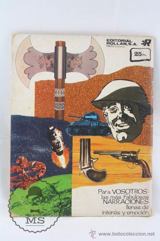 Tebeos: Cómic Texas Jack - Nº 7. La Batalla de Fuerte Sable - Serie Azul. Nº 17 - Ed. Rollán, 1973 - Foto 4 - 54607948