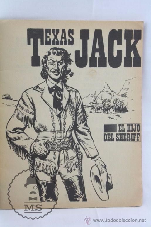 Tebeos: Cómic Texas Jack - Nº 8. El Hijo del Sheriff - Serie Azul. Nº 18 - Ed. Rollán, 1973 - Foto 3 - 54607981