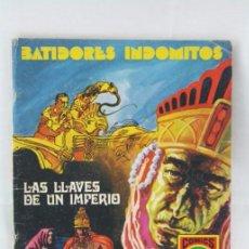 Tebeos: CÓMIC BATIDORES INDÓMITOS - Nº 1. LAS LLAVES DE UN IMPERIO - SERIE ROJA. Nº 4 - ED. ROLLÁN, 1973. Lote 54608021