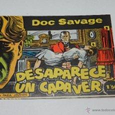 Tebeos: (M1) DOC SALVAGE NUM 1 - DESAPARECE UN CADAVER , EDT ROLLAN, MADRID 1961 - SEÑALES DE USO. Lote 54674905