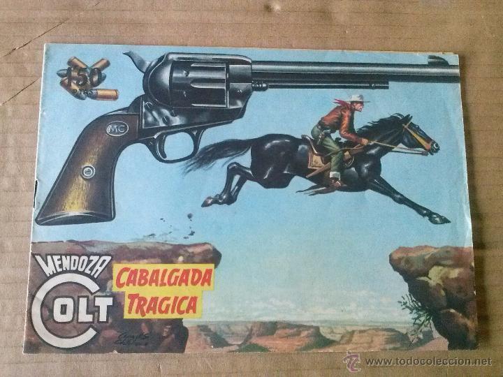 MENDOZA COLT Nº 42 - ORIGINAL , ROLLAN - TA (Tebeos y Comics - Rollán - Mendoza Colt)