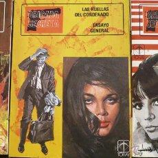Tebeos: BRIGADA SECRETA. EDICIONES TORAY, 1982. LOTE DE TRES NÚMEROS.. Lote 54823458