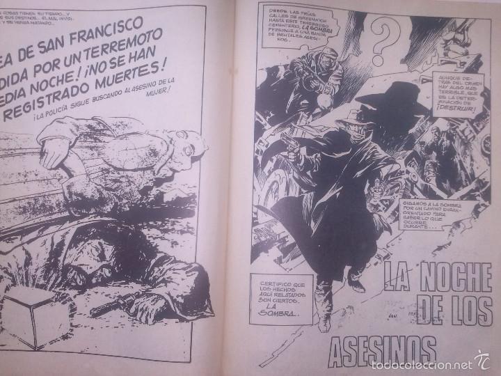 Tebeos: LA SOMBRA -THE SHADOW-CÓMICS ROLLÁN.SERIE ROJA-Nº2-BERNIE WRIGTSON-M. KALUTA-1977-BUENO-RARO-5434 - Foto 5 - 55099226