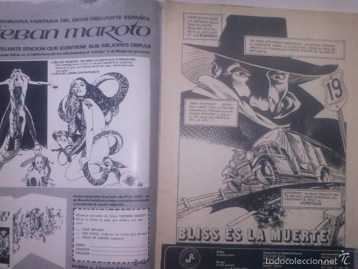 Tebeos: LA SOMBRA -THE SHADOW-CÓMICS ROLLÁN.SERIE ROJA-Nº2-BERNIE WRIGTSON-M. KALUTA-1977-BUENO-RARO-5434 - Foto 6 - 55099226