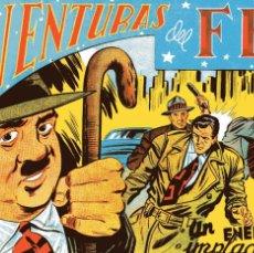 Tebeos: AVENTURAS DEL FBI Nº158 UN ENEMIGO IMPLACABLE ED.ROLLAN AÑOS 50 FACSIMIL. Lote 55360131