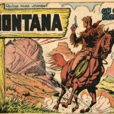 Tebeos: MONTANA Nº 2 (ROLLÁN, 1961) DE LÓPEZ BLANCO. Lote 55812957