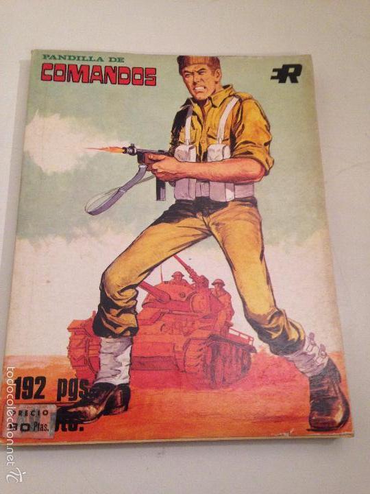RETAPADOS ROLLAN Nº 3. PANDILLA DE COMANDOS. ROLLAN 1974. (Tebeos y Comics - Rollán - Otros)