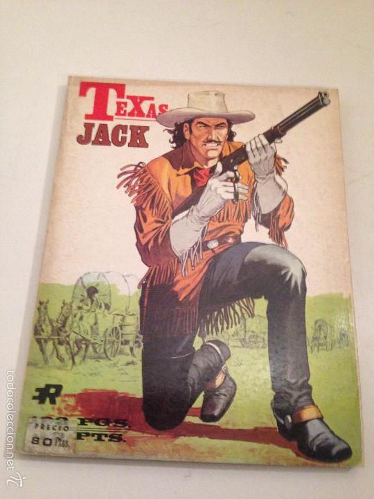 RETAPADOS ROLLAN Nº 7. TEXAS JACK. ROLLAN 1974. JESUS BLASCO. (Tebeos y Comics - Rollán - Otros)