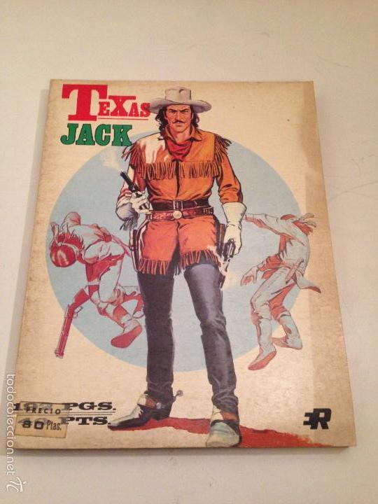 RETAPADOS ROLLAN Nº 8. TEXAS JACK. ROLLAN 1974. JESUS BLASCO. (Tebeos y Comics - Rollán - Otros)