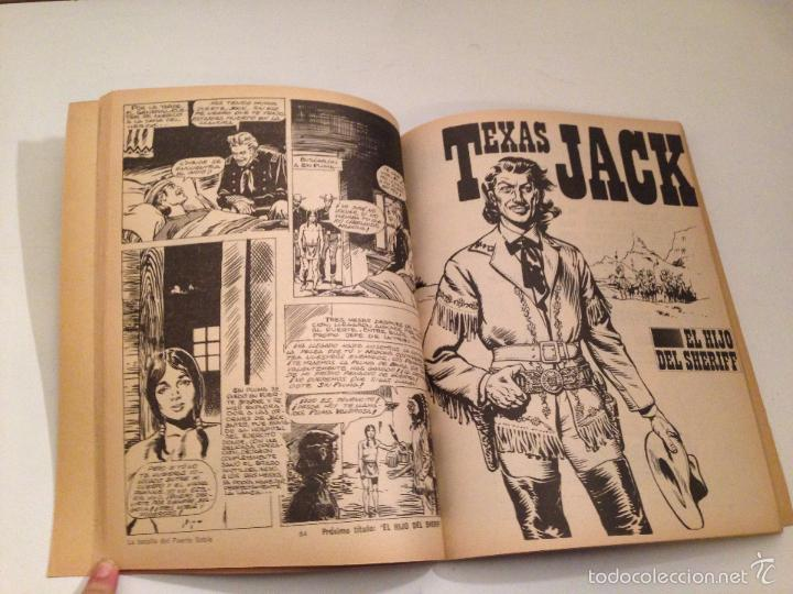 Tebeos: RETAPADOS ROLLAN Nº 8. TEXAS JACK. ROLLAN 1974. JESUS BLASCO. - Foto 2 - 56012015