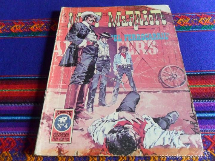 MATT MARRIOT Nº 4. ROLLÁN AÑOS 70. 25 PTS. EL FERROCARRIL. DIFÍCIL!!!! (Tebeos y Comics - Rollán - Series Rollán (Azul, Roja, etc))