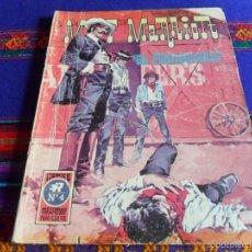 Tebeos: MATT MARRIOT Nº 4. ROLLÁN AÑOS 70. 25 PTS. EL FERROCARRIL. DIFÍCIL!!!!. Lote 56119914