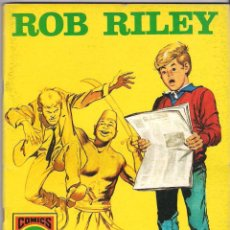 Tebeos: ROB RILEY. Nº 9. Lote 56124466