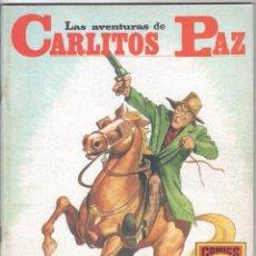 Tebeos: CARLITOS PAZ Nº 7 (18) SERIE ROJA, EDI. ROLLLAN 1973, MUY BUEN ESTADO. Lote 56173479