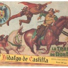 Livros de Banda Desenhada: EL HIDALGO DE CASTILLA Nº 1 ORIGINAL EDI.ROLLAN 1959. Lote 56265027