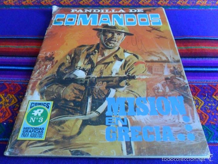 Tebeos: PANDILLA DE COMANDOS Nº 2 SERIE B Nº 5. DÍA D HORA H. ED. ROLLÁN 1973. 25 PTS. REGALO Nº 3. - Foto 2 - 50234642
