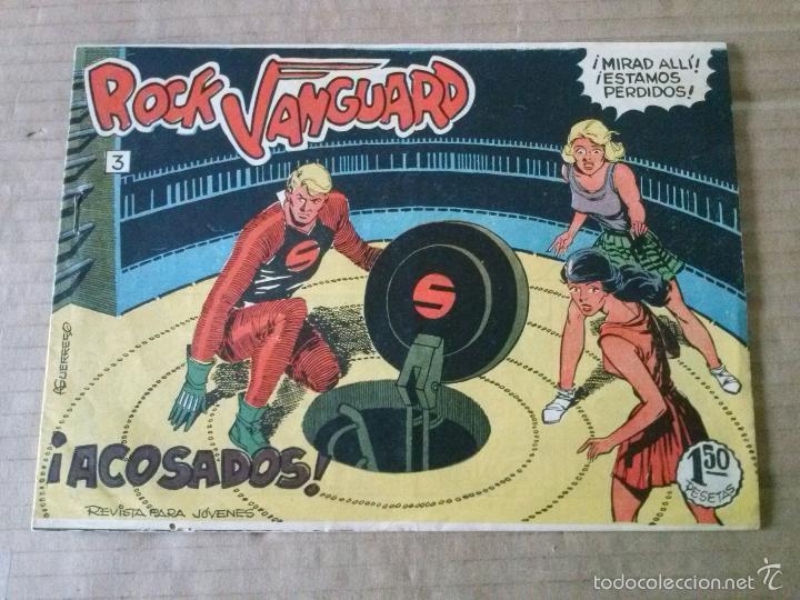 ROCK VANGUARD Nº 3 -ROLLAN ,ORIGINAL -TA (Tebeos y Comics - Rollán - Rock Vanguard)