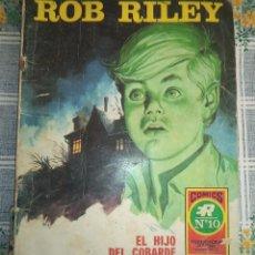 BDs: ROB RILEY ED ROLLAN 1973 SERIE ROJA Nº 10 EL HIJO DEL COBARDE . Lote 56588136