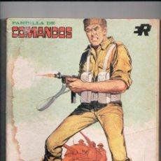 Tebeos: PANDILLA DE COMANDOS COMPLETA RETAPADO Nº 3 ROLLAN. Lote 57020574