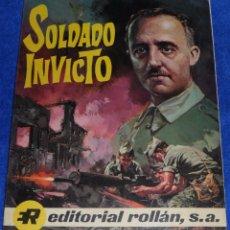 Livros de Banda Desenhada: SOLDADO INVICTO - FRANCO - EDITORIAL ROLLAN (1969). Lote 57409325