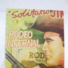 Tebeos: CÓMIC SOLITARIO JIM - Nº 1. RODEO INFERNAL - ED. ROLLÁN, AÑOS 50 - MEDIDAS 25 X 17,5 CM. Lote 57428616