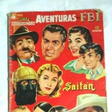 Tebeos: NUMERO EXTRAORDINARIO DICIEMBRE 1957 EDITORIAL ROLLAN, MENDOZA COLT, AVENTURAS DEL FBI, SAITÁN. Lote 57791356