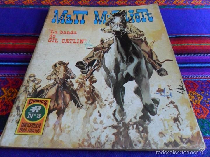MATT MARRIOTT Nº 3. ROLLÁN 1973 25 PTS. LA BANDA DE GIL CATLIN. DIFÍCIL!!!!! (Tebeos y Comics - Rollán - Series Rollán (Azul, Roja, etc))