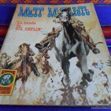 Tebeos: MATT MARRIOTT Nº 3. ROLLÁN 1973 25 PTS. LA BANDA DE GIL CATLIN. DIFÍCIL!!!!!. Lote 57870099