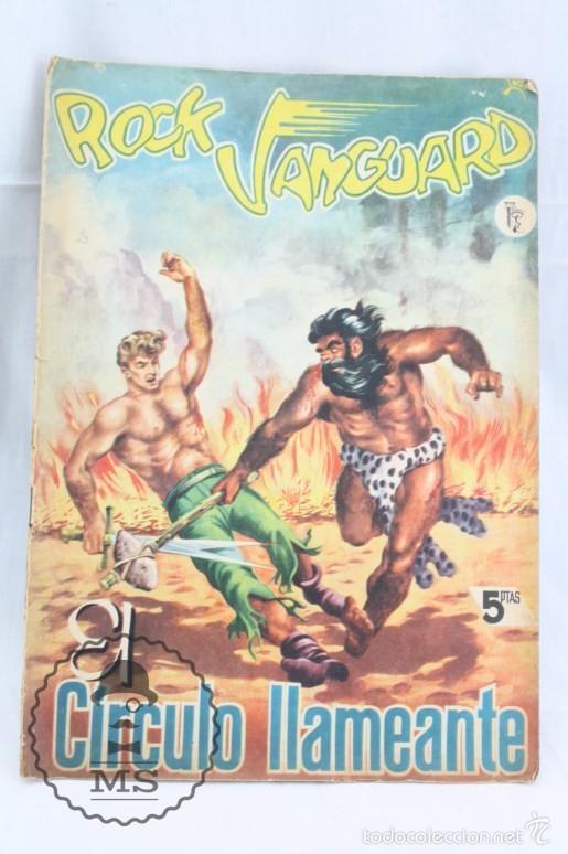 CÓMIC ROCK VANGUARD - Nº 3. EL CÍRCULO LLAMEANTE - ED. ROLLÁN, AÑO 1958 (Tebeos y Comics - Rollán - Rock Vanguard)