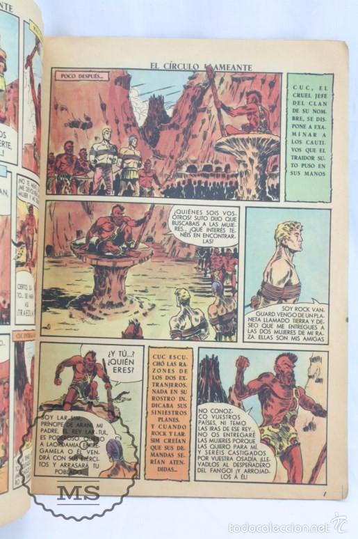 Tebeos: Cómic Rock Vanguard - Nº 3. El Círculo Llameante - Ed. Rollán, Año 1958 - Foto 2 - 57947800