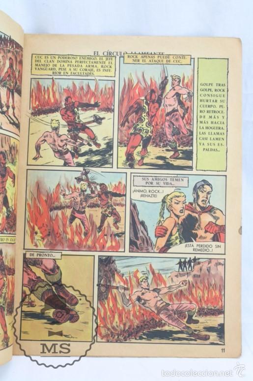 Tebeos: Cómic Rock Vanguard - Nº 3. El Círculo Llameante - Ed. Rollán, Año 1958 - Foto 3 - 57947800