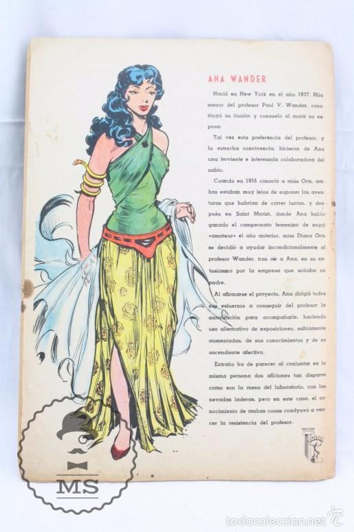 Tebeos: Cómic Rock Vanguard - Nº 3. El Círculo Llameante - Ed. Rollán, Año 1958 - Foto 4 - 57947800
