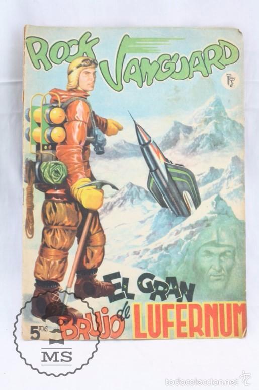 CÓMIC ROCK VANGUARD - Nº 1. EL GRAN BRUJO DE LUFERNUM - ED. ROLLÁN, AÑO 1958 - RAREZA / DIFÍCIL (Tebeos y Comics - Rollán - Rock Vanguard)
